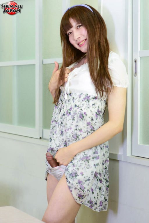 Japanese ladyboy schoolgirl