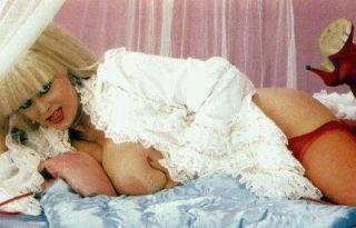 Big tits vintage pornstar Candy Samples fucked in