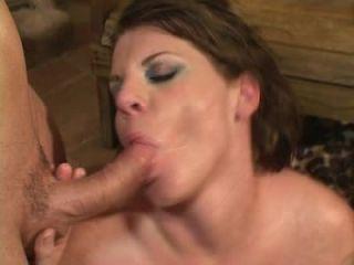 Horny mom banged