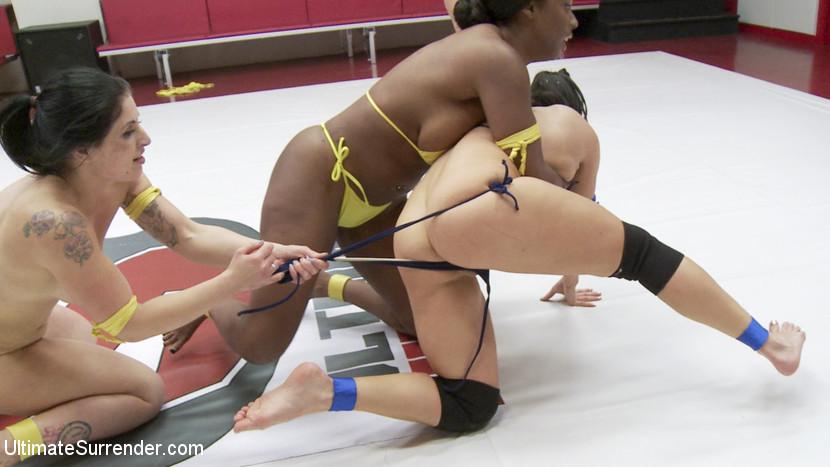 ... porn Fallon West strapon lesbians ...