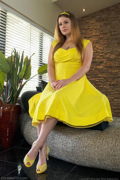 Danielle FTV Yellow Dress