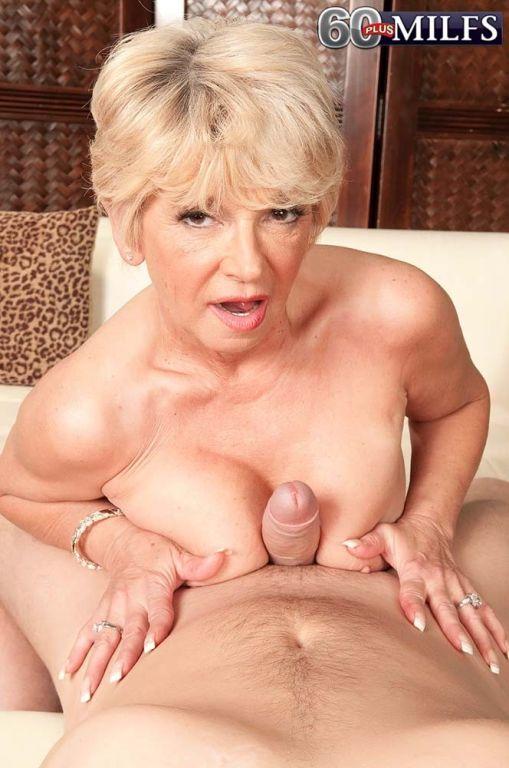 Hot Granny MILF DeAnna Bentley Sucking Stiff Penis
