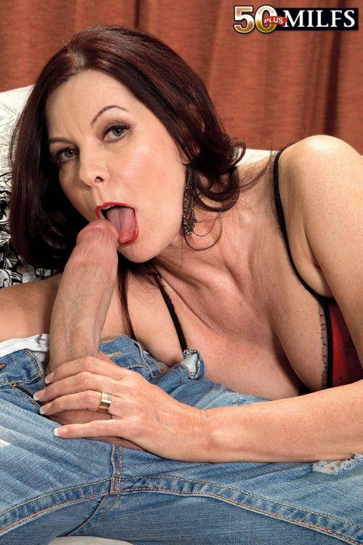 Horny Cock Loving MILF Magdalene Fucking Hard