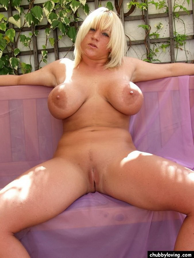 Bbw big tits blonde consider