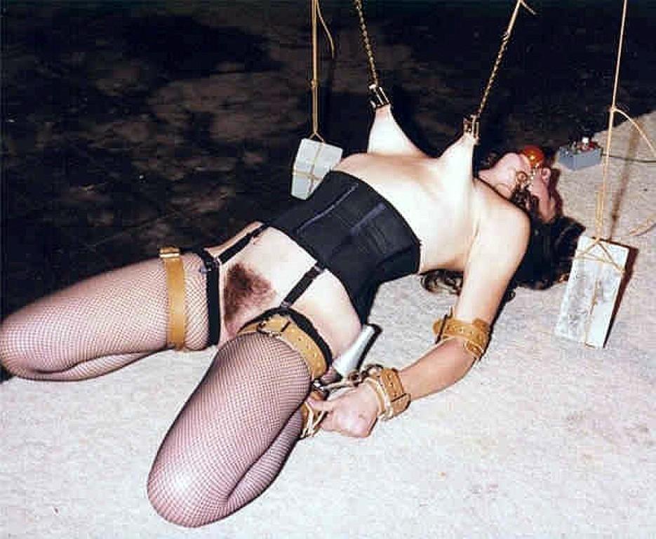 Extreme nipple stretching bondage recommend you