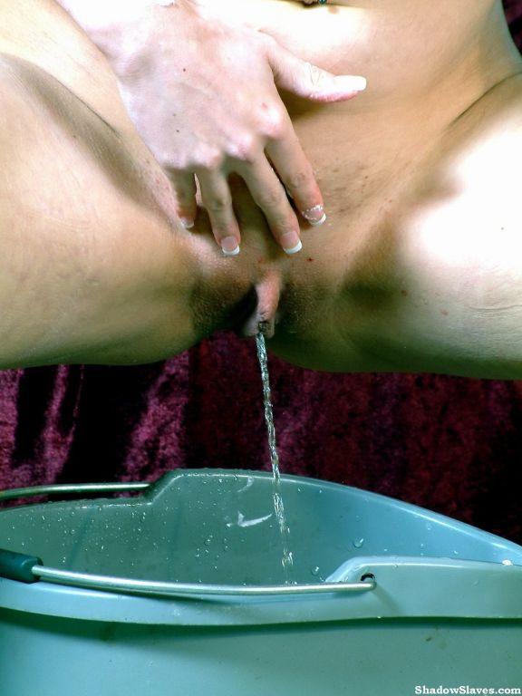 Kinky pussy shaving by Emily Sharpe
