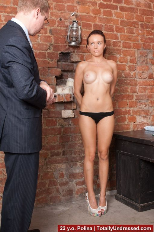 Secretary at the nude interview