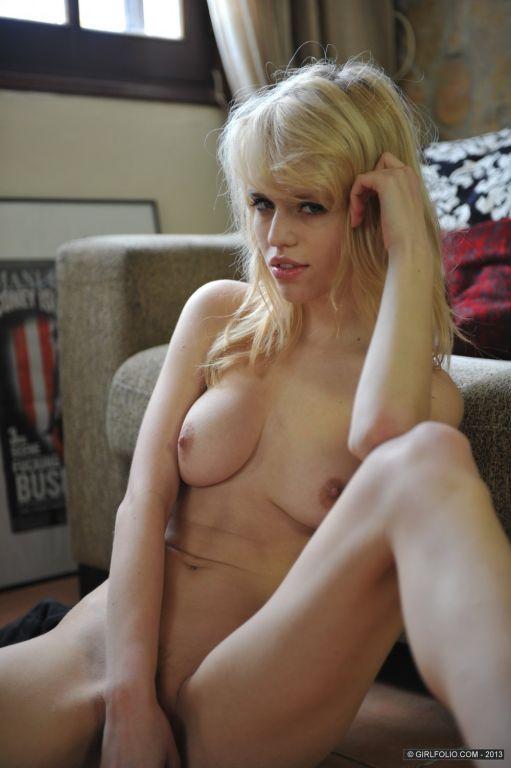 Beautiful blonde babe Lorna Moore