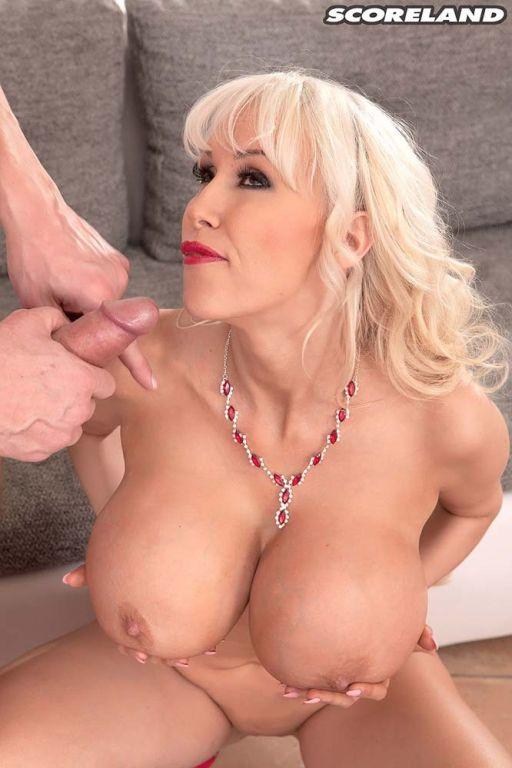 Amazing Big Tits Sandra Star Seducing With Her Ass