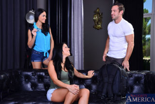 Diamond and Jasmine took a trip to go backpacking