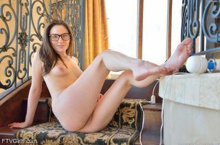 FTV Girls Brooke Behind The Glasses