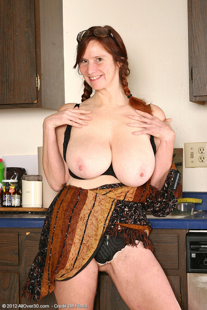All over 30 redhead hairy