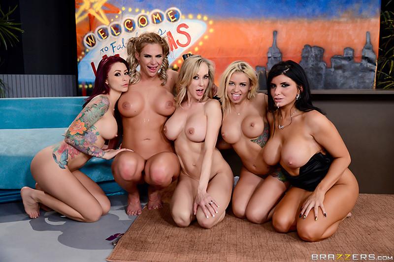 Naked Brandi Love Big Tits Orgy