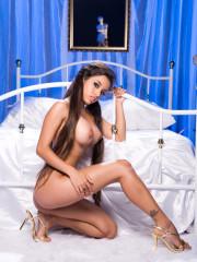 Mongolian nude model photo
