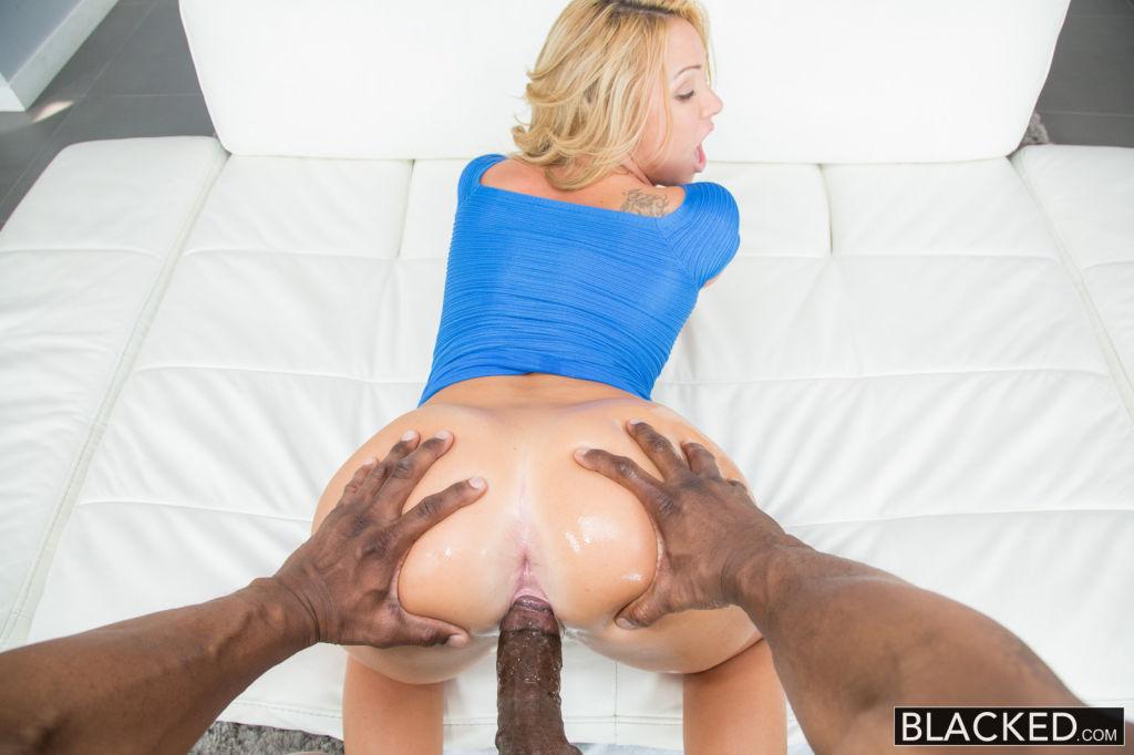 Hot Blonde Teen Katerina Kay Takes Huge Black Cock