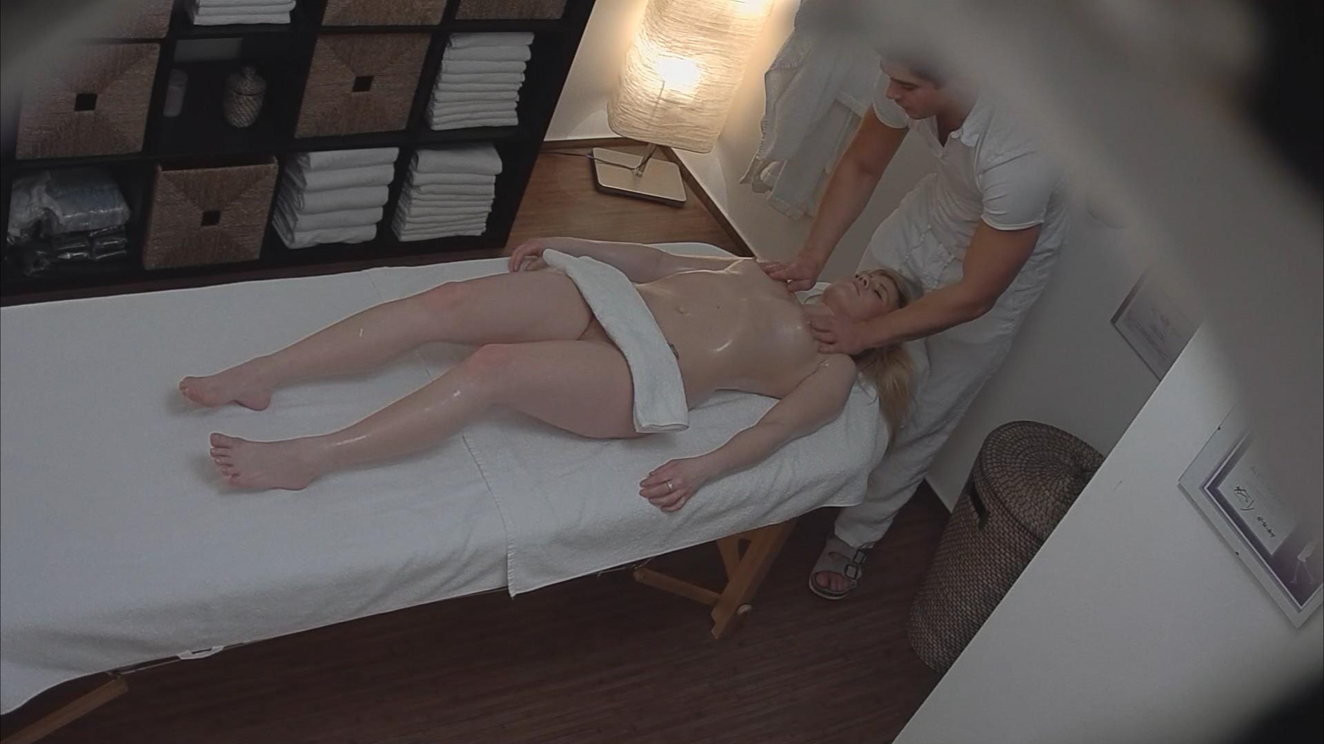 Hidden cam mature massage