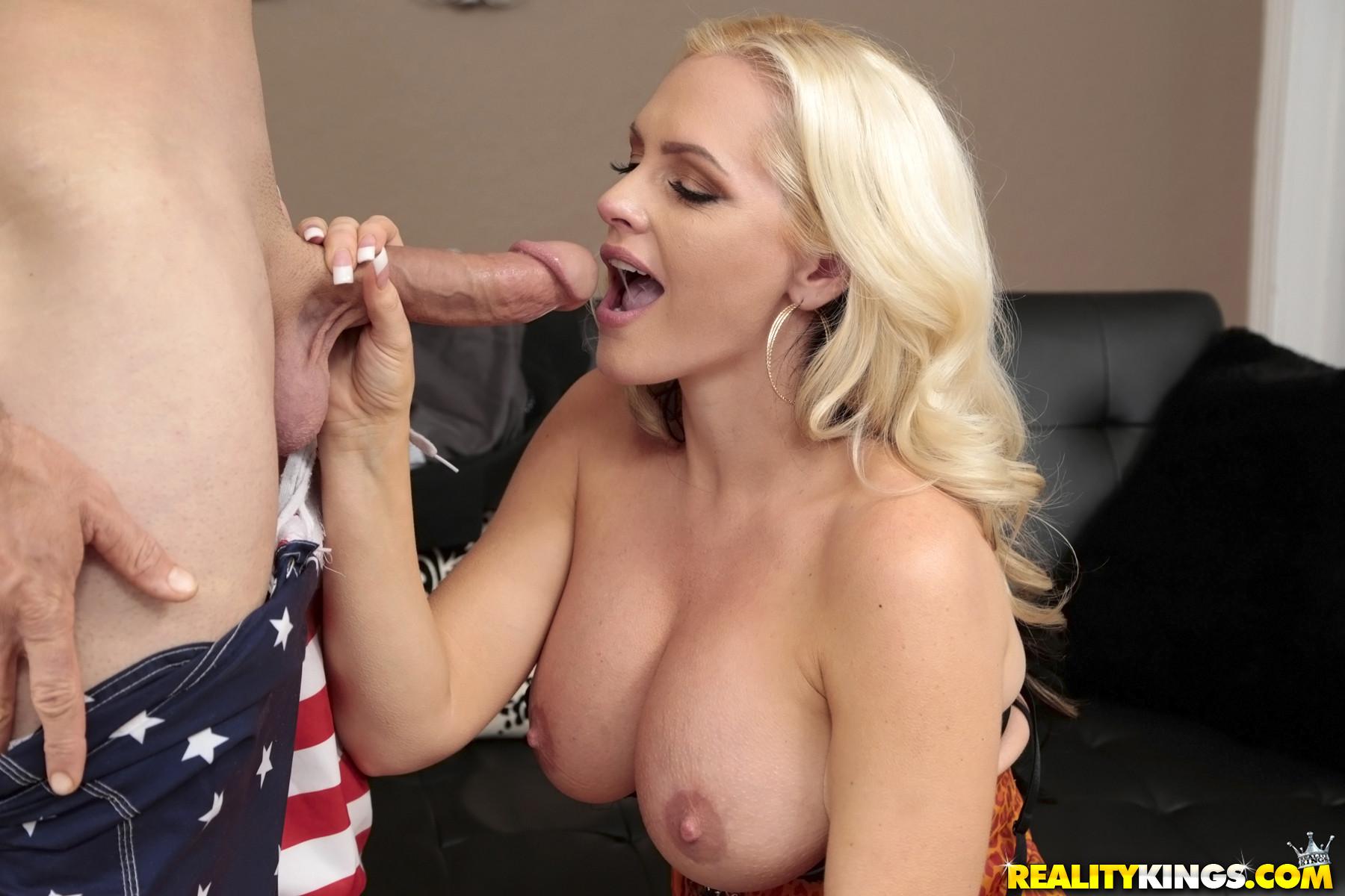 ... naked Alena Croft blowjob european