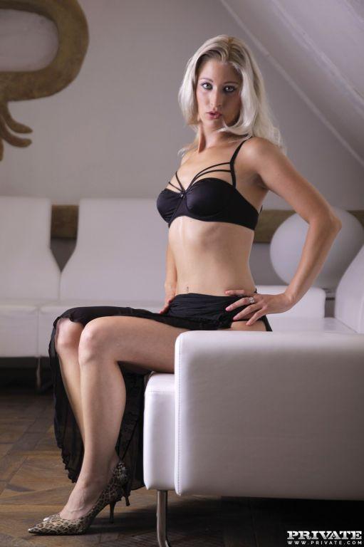 Hot blonde euro babe Uma Zex fucking at Private