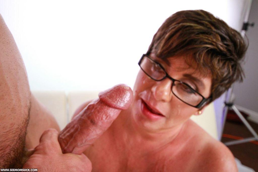 Busty Stepmom Kriss Kelly Milking Stepsons Hard Ro