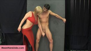 Lance Hart is getting offered a handjob by a beaut