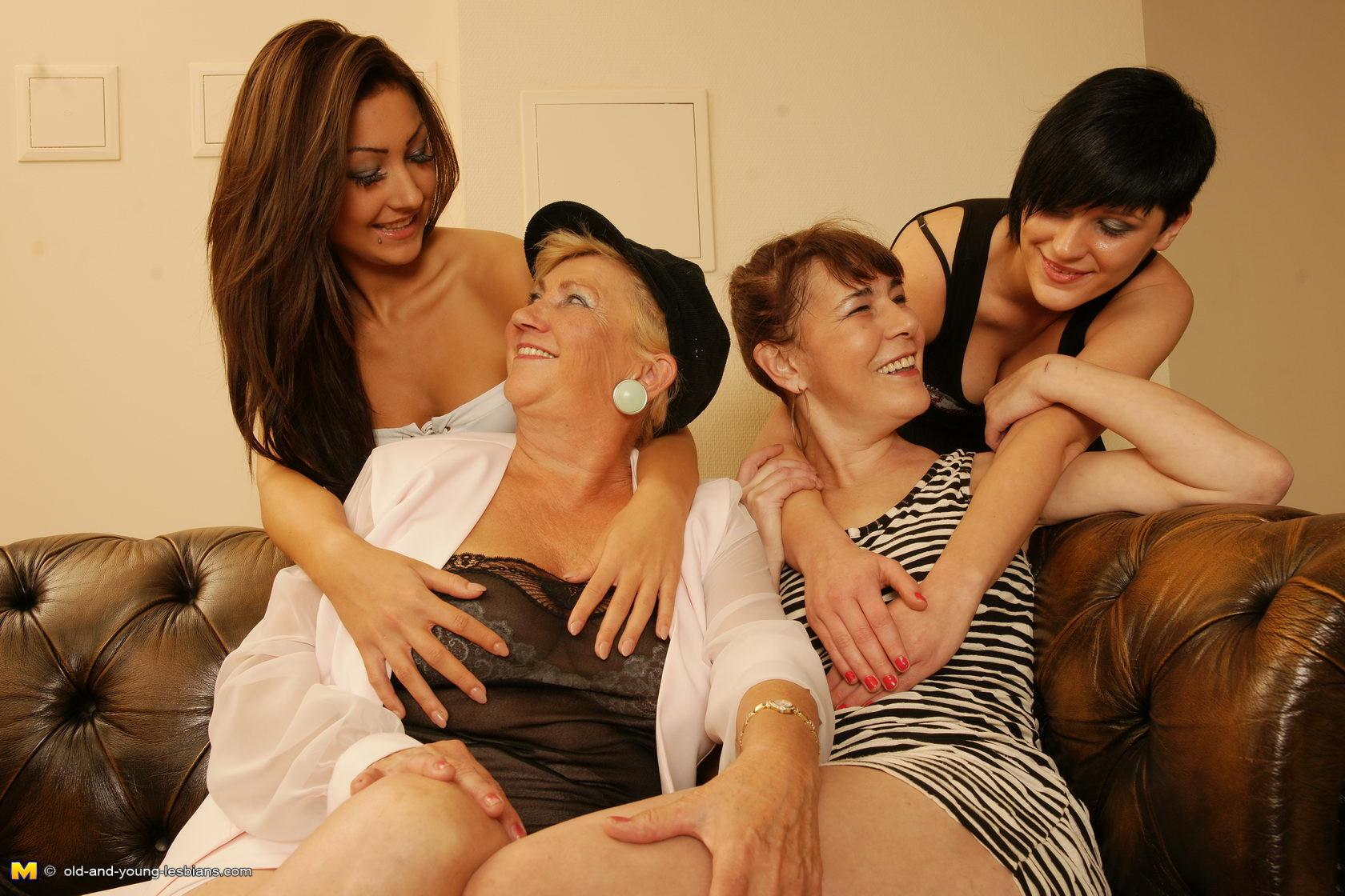 Very Old Granny Lesbian