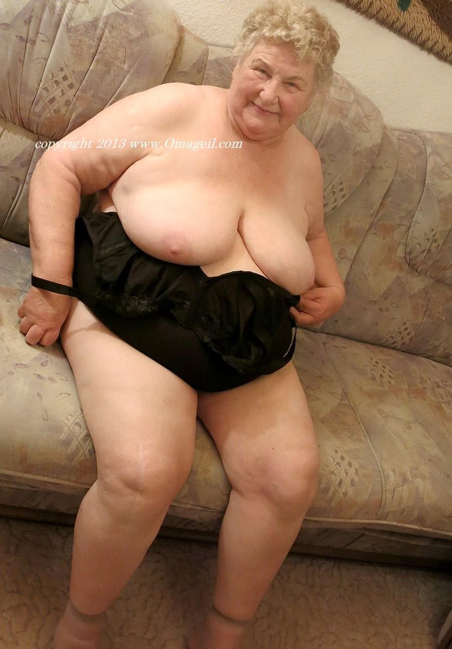 Older woman big tits