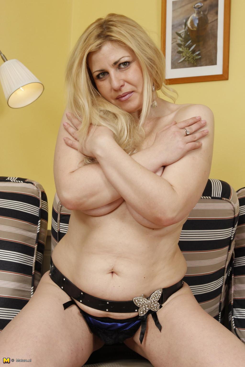 Hot mature blonde huge tits 74