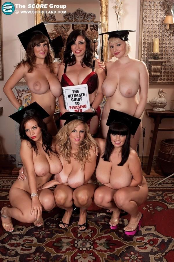 Big tits academy