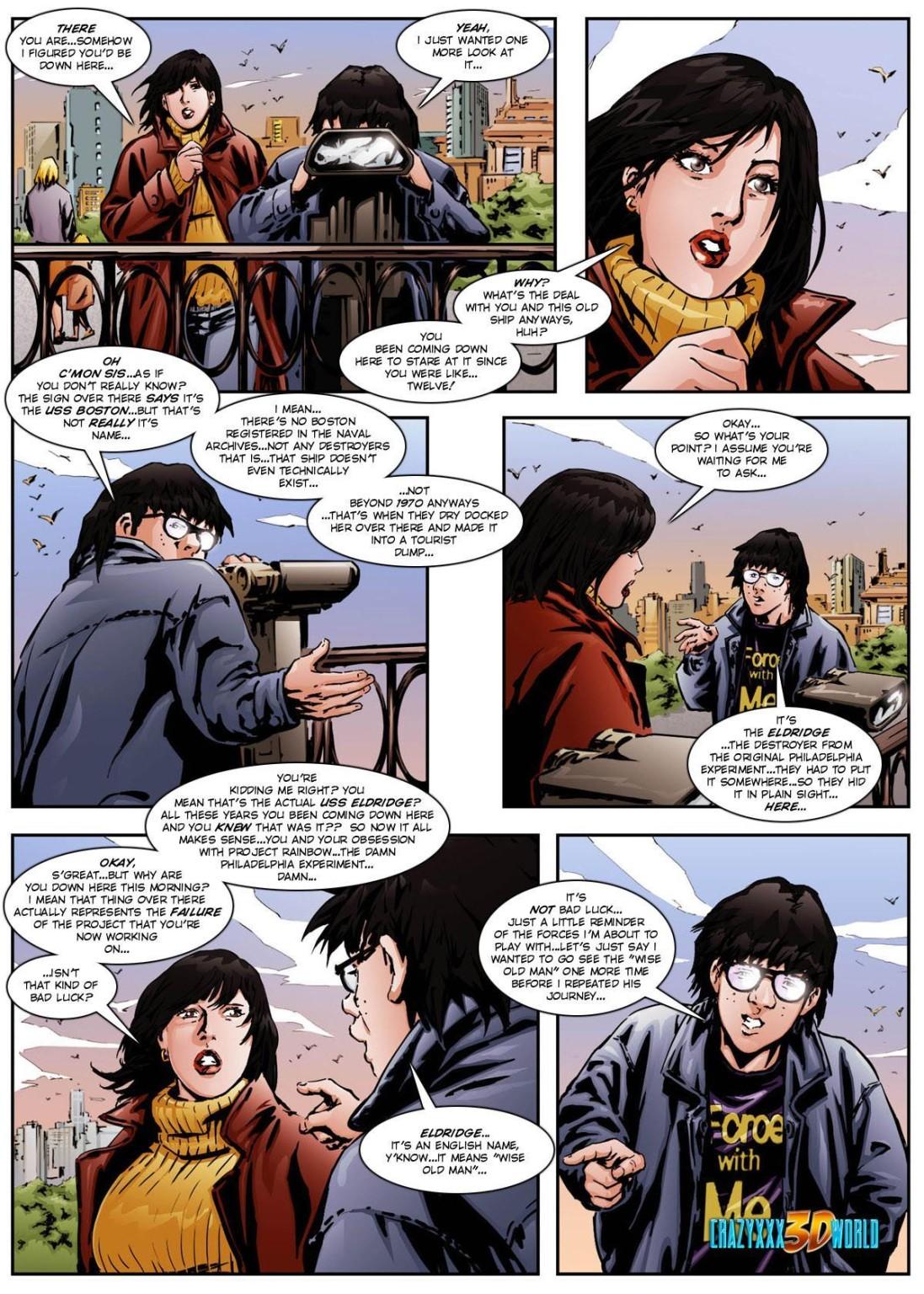 The Philadelphia Project Adult XXX comics - Pichunter