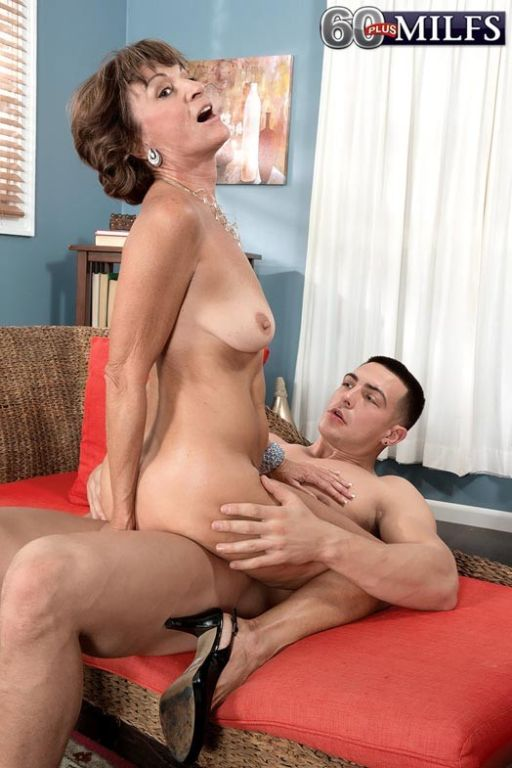 Young Stiff Cock For Dirty Old Cougar Mom Sydni La