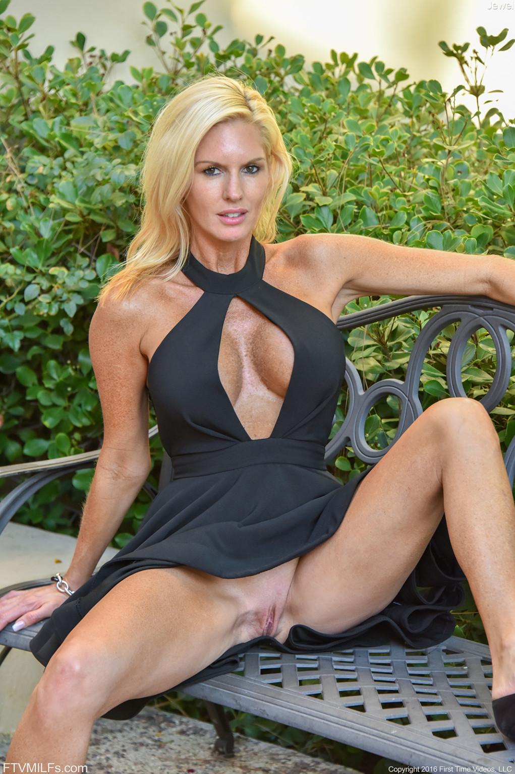 Blonde Big Tits Swimming Pool