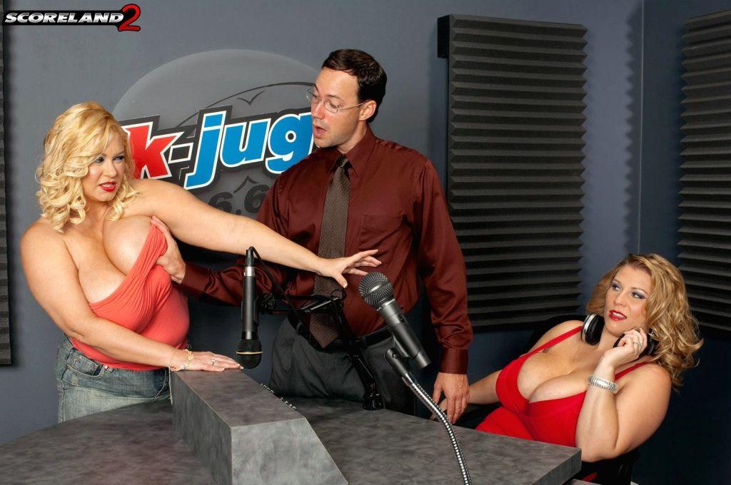 Chubby threesome sex on radio audition