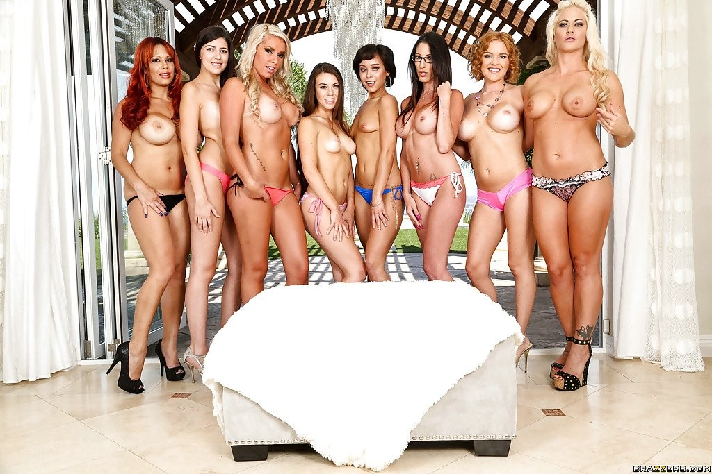 Cum swapping orgy with pornstars Chanel Preston Jasmine Jae ...