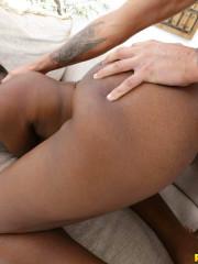 Ebony goddess straight from Miami titty fucked