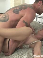 Hot mature Lady Sonia gets facial cumload