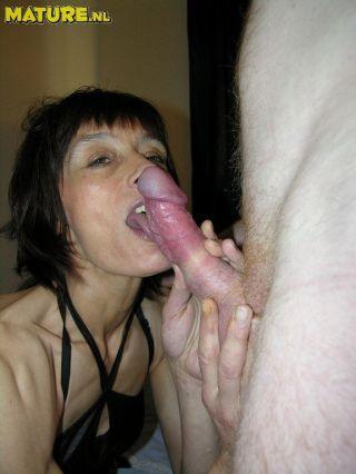 She eats that cock like a hounddog