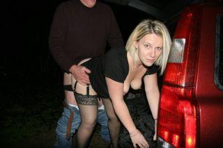 British wifes fucking after dark in dogging