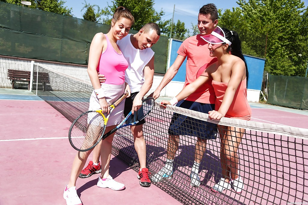Tennis Sex Orgy