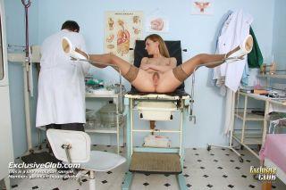 Viktorie pussy gyno speculum kinky exam at hospita