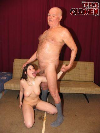 Fucking her grandpa