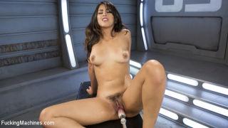 Fresh meat, Sophia Leone gets machine fucked for t