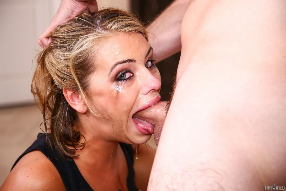 Amazing Deep Throat Blowjob