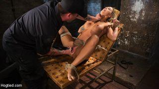 Kleio Valentien tattooed blonde bondage babe is bd