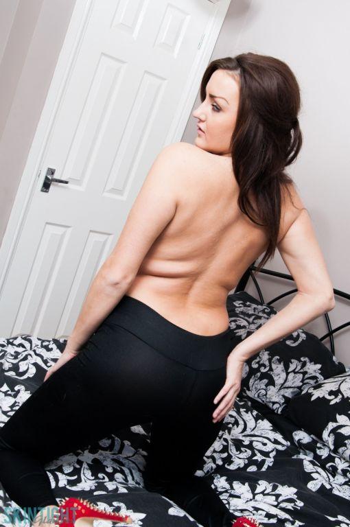 Gerogies black leggings