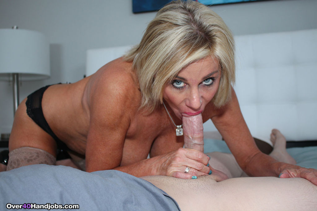 Horny milf Payton Hall milking and sucking huge di