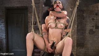 Slut Begs for Extreme Bondage and Grueling Torment