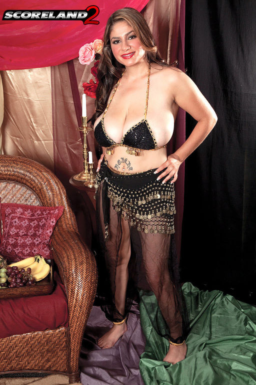 Pornstar Jasmine Shiraz with biggest arabian boobs