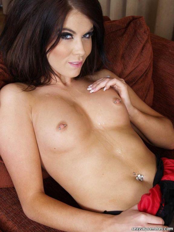 Gorgeous British pornstar Megan Coxxx looks sumptu