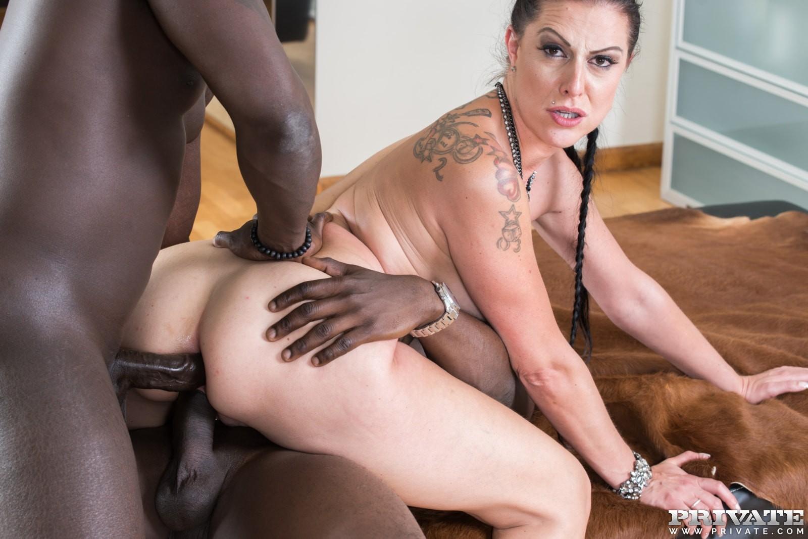 Kristina Rose Interracial Anal