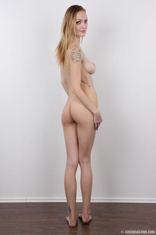 Slim babe with big beautiful tits